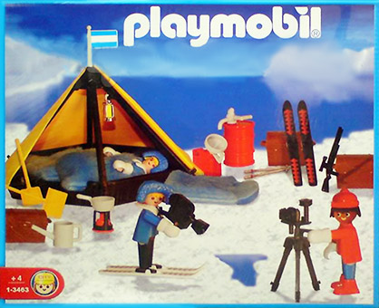 Playmobil 1-3463-ant - polar camp - Box