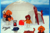 Playmobil - 1-3565-ant - family of polar hunters with igloo