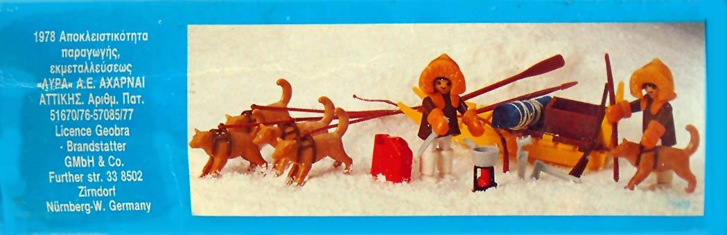 Playmobil 3910-lyr - polar hunter with dog - Caja