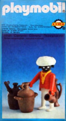 Playmobil 3L18-lyr - bedouin - Box