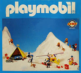 Playmobil 3L73-lyr - polar hunters family - Box