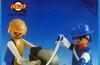 Playmobil - 3L91-lyr - US officer and blacksmith
