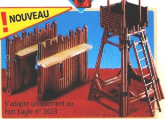 Playmobil - 7217 - Fort Walls With Tower