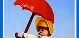 Playmobil - 23.34.5-trol - Girl with umbrella