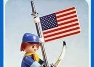 Playmobil - 23.35.4-trol - Union Soldier with Flag