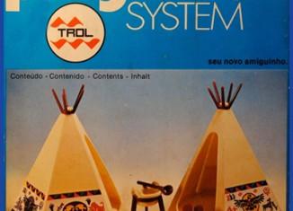 Playmobil - 23.25.2-trol - Indian tepees