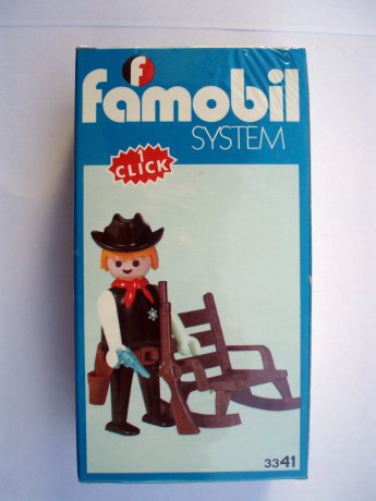 Playmobil 3341-fam - Sheriff - Box