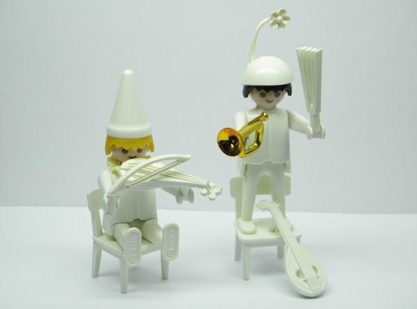 Playmobil 3644 - Musical clowns - Back