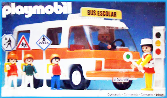 Playmobil 23.88.0-trol - school bus - Box