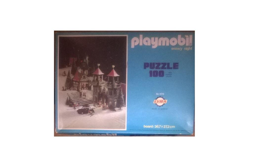 Playmobil 4015s1-lyr - PLAYMOBIL SNOWY NIGHT - Box