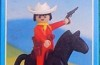 Playmobil - 1026-lyr - Cowboy with Horse