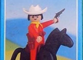 Playmobil - 1026-lyr - Cowboy with Horse