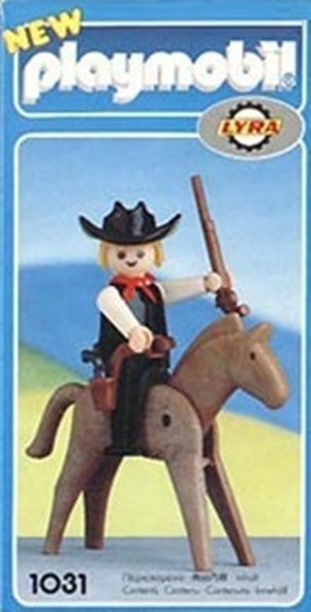 Playmobil 1031-lyr - Sheriff with Horse - Box