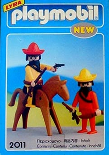 Playmobil 2011-lyr - Mexicans with Horse - Box
