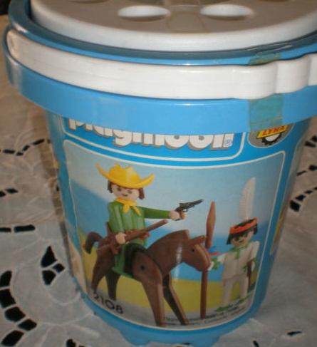 Playmobil 2108-lyr - Cowboy and Indian - Box