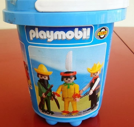 Playmobil 2109-lyr - Cowboy, Mexican and Indian - Box