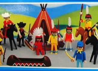 Playmobil - 3001-lyr - Union Soldiers, Cowboys and Indians