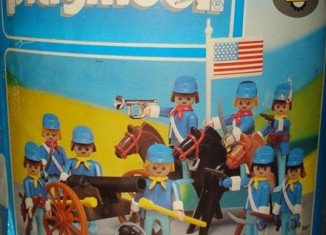 Playmobil - 3002-lyr - Union Soldiers