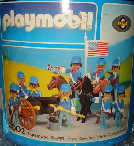 Playmobil 3002-lyr - Union Soldiers - Box