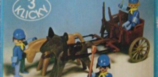Playmobil - 3244-lyr - US Artillery Cart