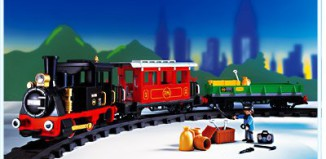Playmobil - 4021-usa - RC Old-timer Train