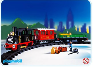 Playmobil - 4021-usa - Tren radio-control