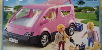 Playmobil - 9054 - Mono-volumen rosa