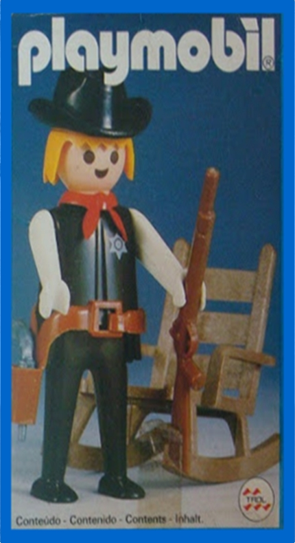 Playmobil 23.34.1 - V2-trol - Sheriff - Boîte