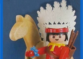 Playmobil - 23.35.1 - V2-trol - Indian with Horse