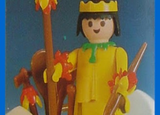 Playmobil - 23.35.2 - V2-trol - Indian with Canoe