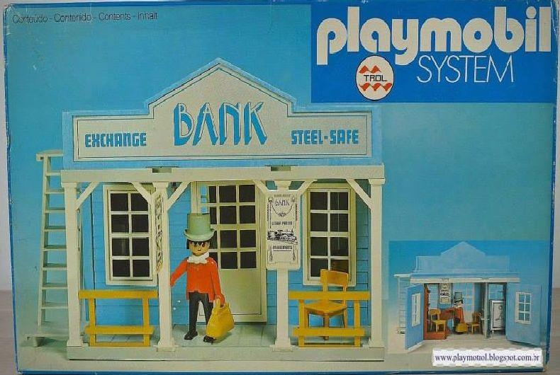 Playmobil 23.42.2 - V1-trol - Bank - Box