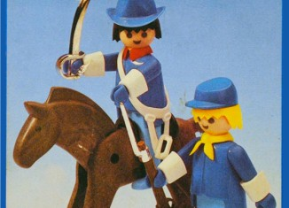 Playmobil - 23.58.2-trol - Union officer and soldier