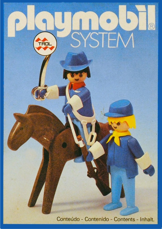 Playmobil 23.58.2-trol - Union officer and soldier - Box