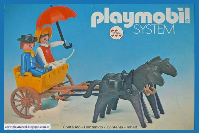 Playmobil 23.74.9-trol - Western coach - Boîte