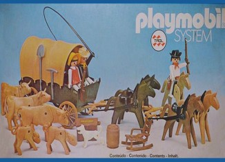 Playmobil - 23.75.2-trol - Settlers & covered wagon