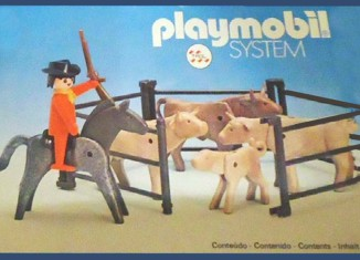 Playmobil - 23.75.3-trol - Cowboy with cattle