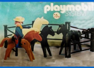 Playmobil - 23.75.4-trol - Cowboy with horses