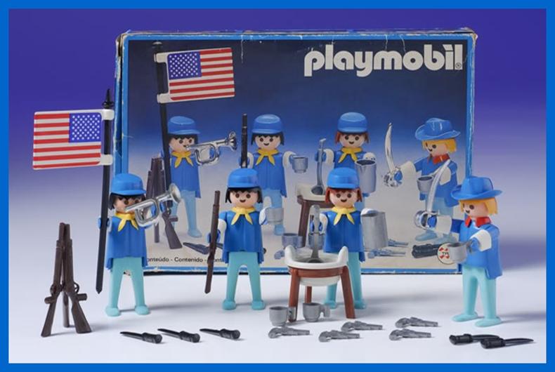 Playmobil 23.79.7-trol - US cavalry set - Box