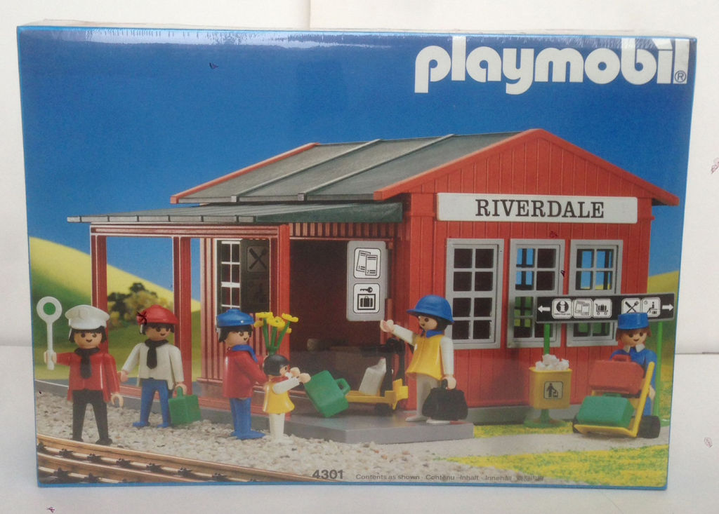 Playmobil 4301 - Riverdale Station - Box