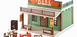 Playmobil - 6478 - Western-Bank