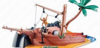 Playmobil - 6481 - Beached Shipwreck
