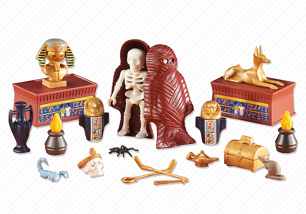 Playmobil set 6483 treasure of the pharaoh klickypedia - Egypte playmobil ...