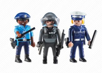 Playmobil - 6501 - Policemen and Policewoman