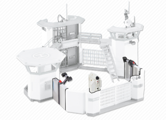 Playmobil - 6503 - Extension Police Station with Alarm