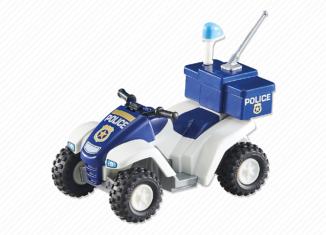 Playmobil - 6504 - Police Quad Bike