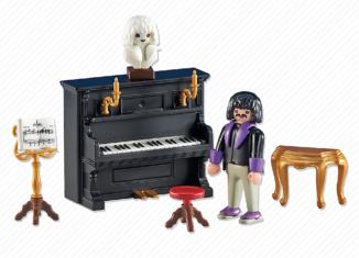 Playmobil - 6527 - Victorian pianist