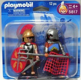 Playmobil 5817 - Duo Pack Tribun and Gladiator - Box