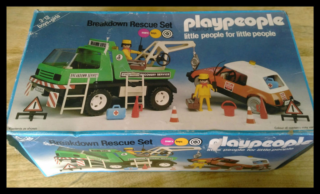 Playmobil 1759-pla - Breakdown Rescue Set - Box