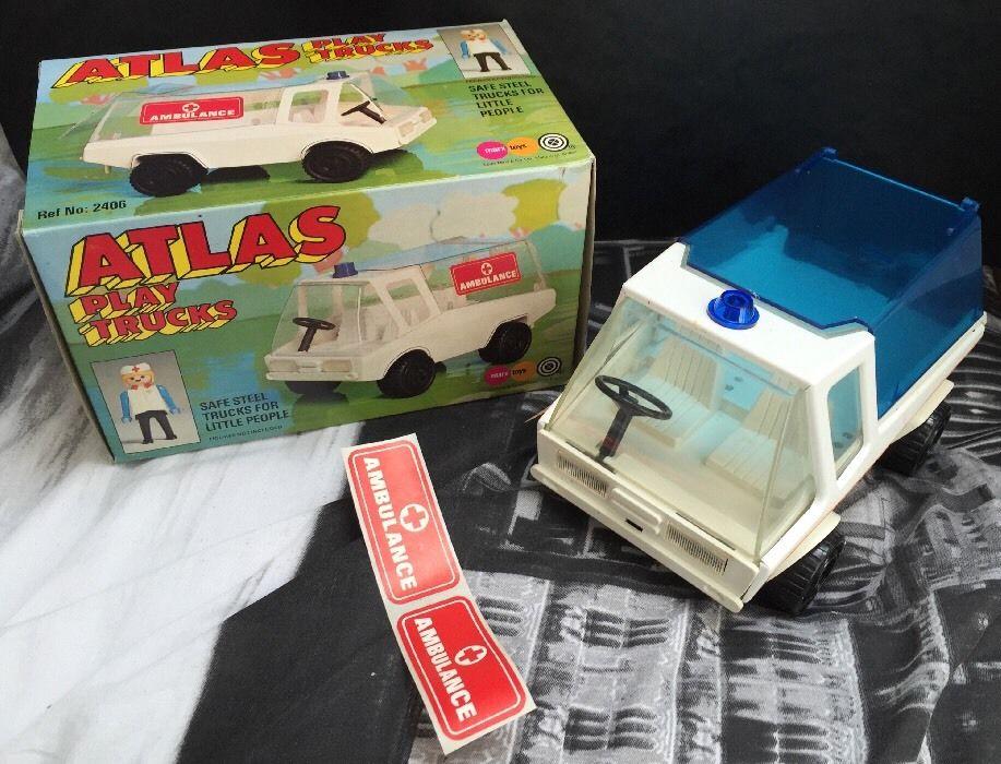 Playmobil 2406-pla - Atlas Play Trucks - Ambulance - Back