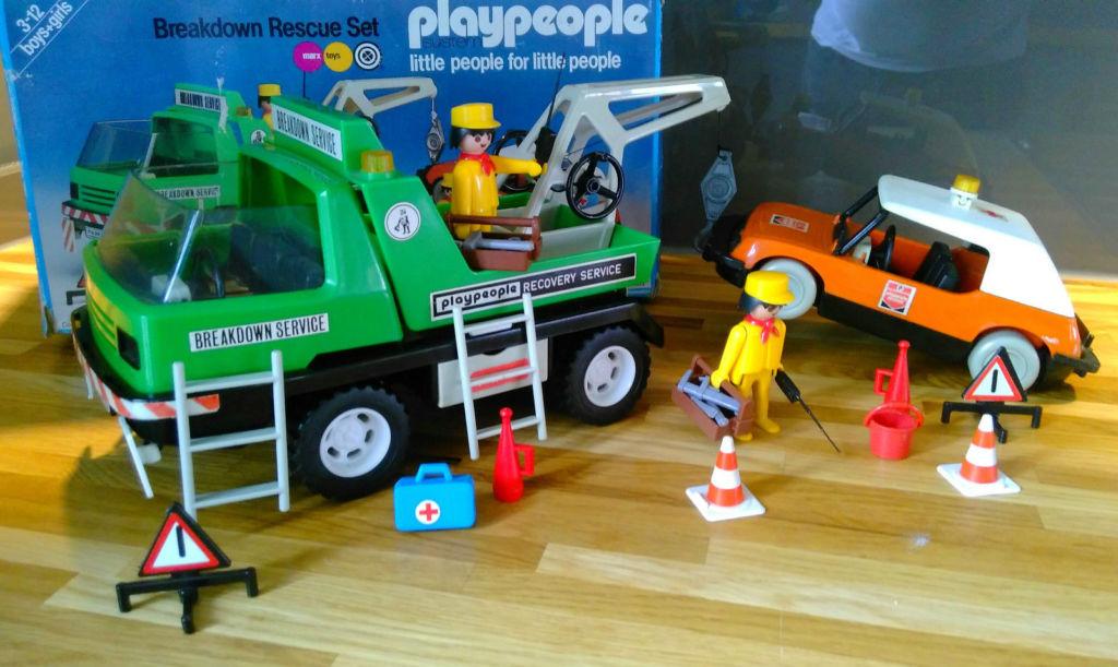Playmobil 1759-pla - Breakdown Rescue Set - Back